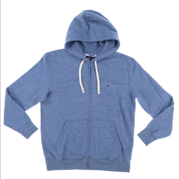 bac7e940d97eb Tommy Hilfiger Shirts | Mens Hoodie Baby Blue | Poshmark